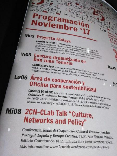2CN-CLab 2017 em Espanha