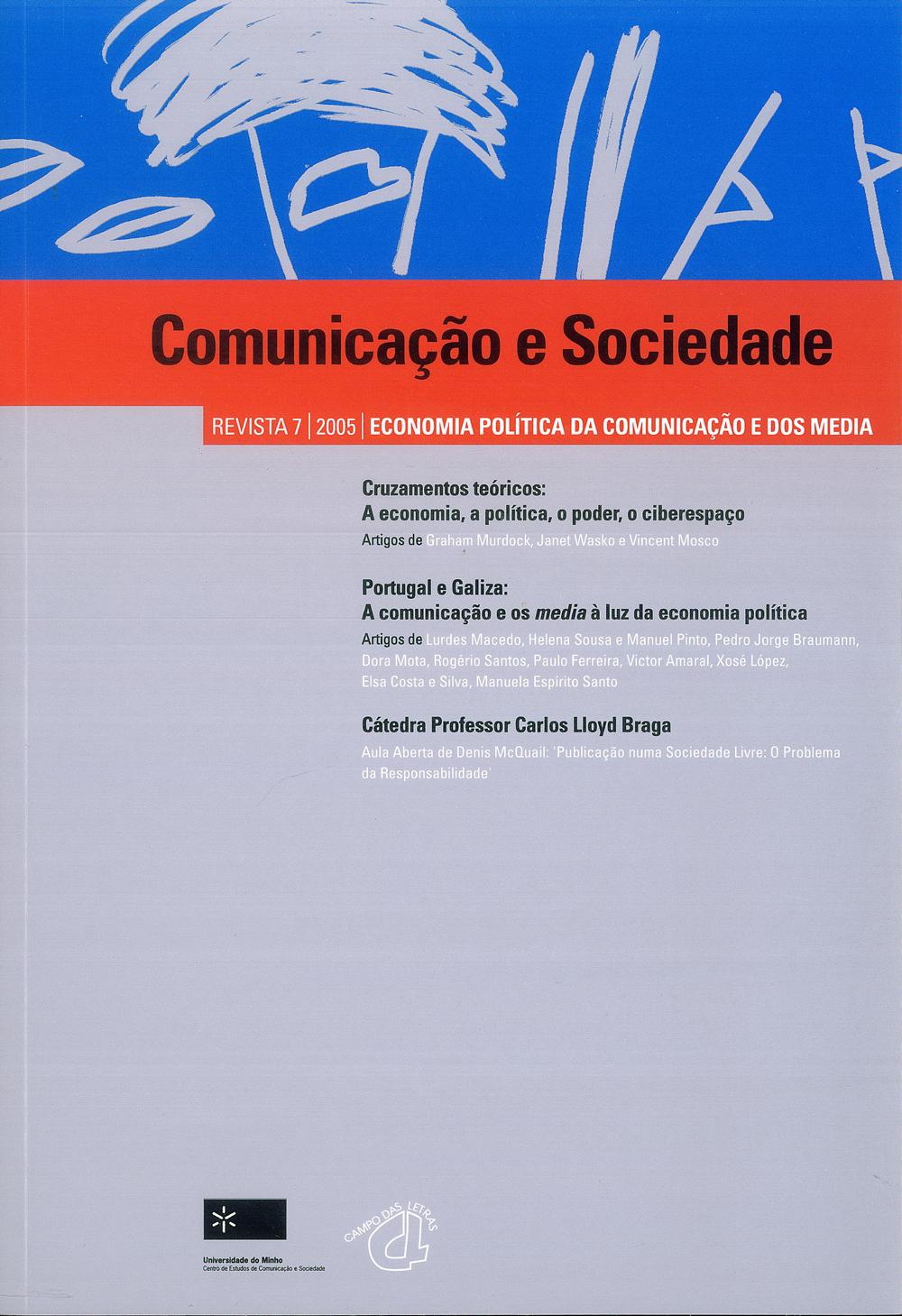 Comunicação e Sociedade, 7