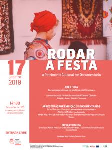 """Sessão """"Rodar a Festa: o Património Cultural em Documentário"""""""