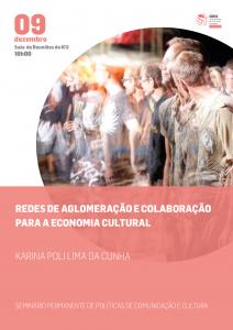 Redes de aglomeração e colaboração para a Economia Cultural