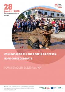"""Seminário """"Comunicação, cultura popular e festa: horizontes de debate"""""""
