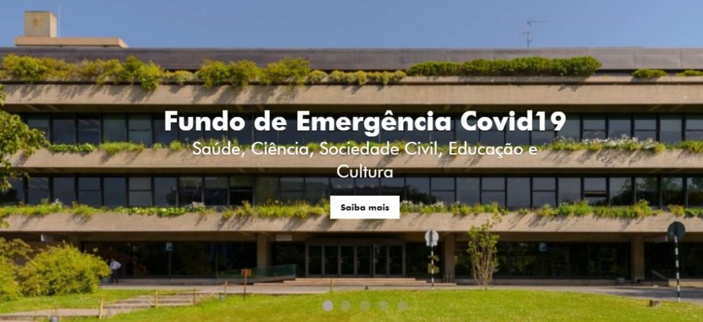 Gulbenkian cria fundo de emergência de 5 milhões de euros