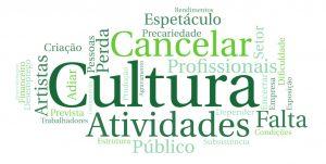 """POLObs Working Report #1 """"Impactos da COVID-19 no setor cultural português: Resultados preliminares de março de 2020""""."""