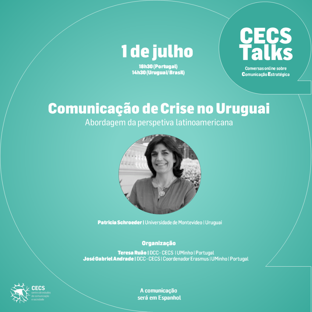 CECS Talks com Patricia Schroeder