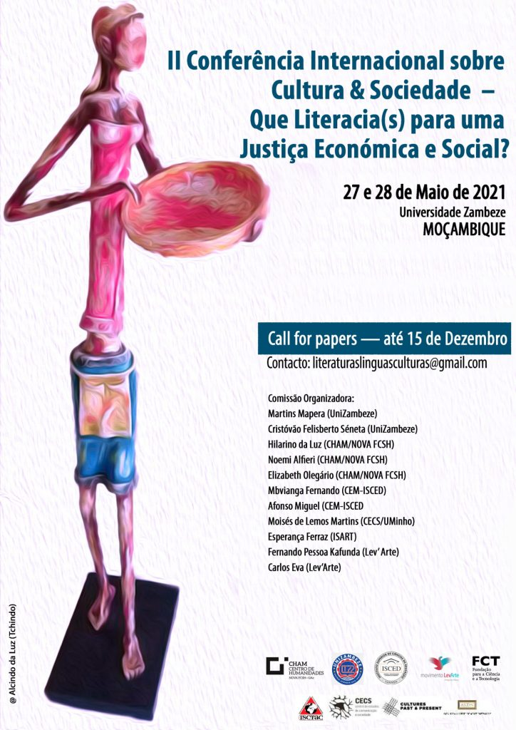 II Conferência Internacional sobre Cultura & Sociedade – Que Literacia(s) para uma Justiça Económica e Social?