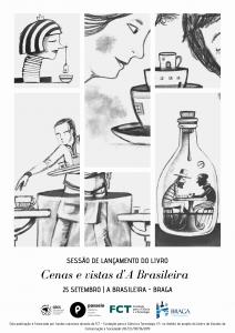 Passeio lança o livro Cenas e vistas d'A Brasileira