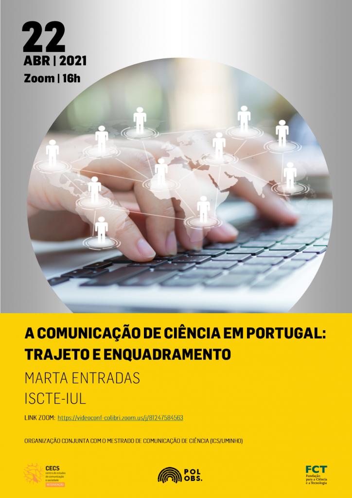 Seminário Permanente debate a comunicação de ciência em Portugal