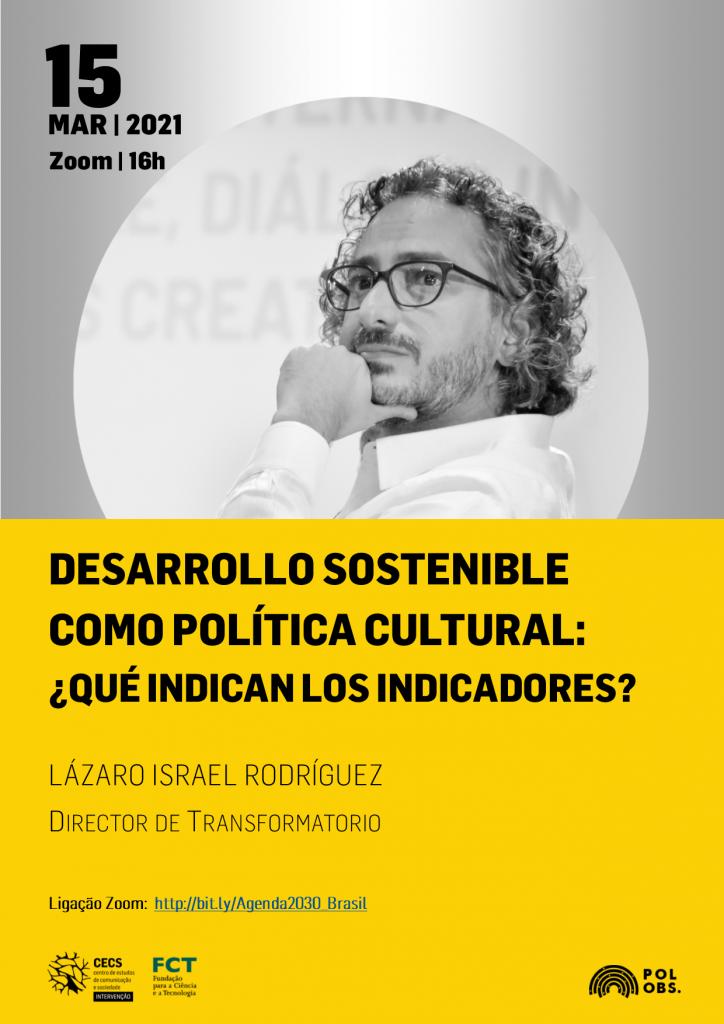 """Seminário """"Desenvolvimento sustentável como política cultural: o que mostram os indicadores?"""""""
