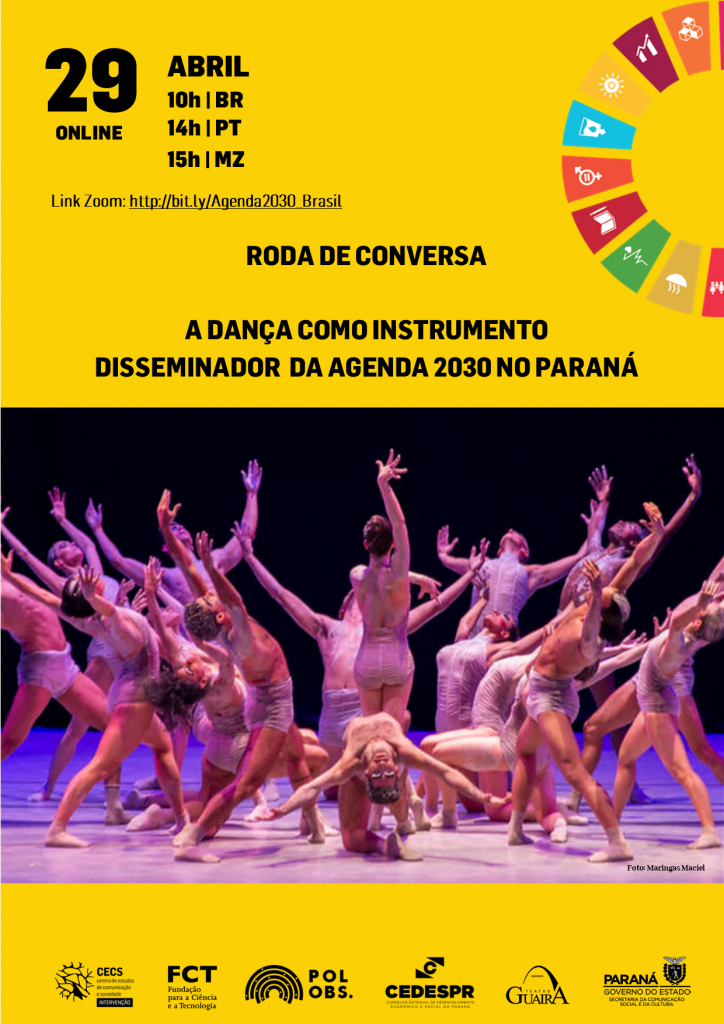 """""""Roda de Conversa: a dança como instrumento disseminador da Agenda 2030 no Paraná"""""""