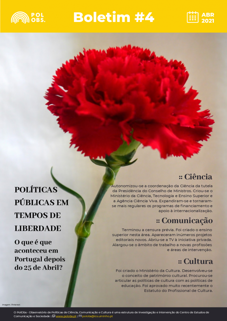 Boletim PolObs: Políticas públicas em tempos de liberdade