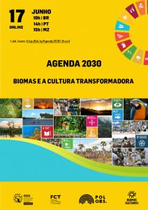 """""""Agenda 2030: Biomas e a Cultura Transformadora"""" discute projeto brasileiro da região do Cariri"""