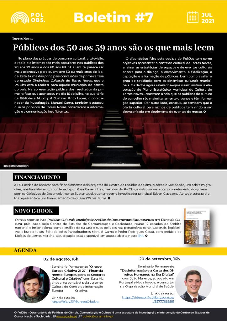 Boletim PolObs destaca os 200 anos da primeira Lei de Imprensa portuguesa