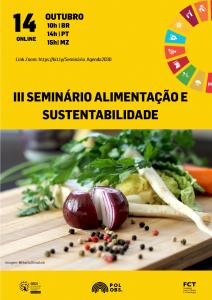 III Seminário | Agenda 2030 e a alimentação: um sabor com gosto de cultura